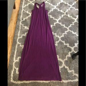 Purple Athleta dress